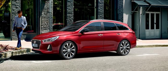 Hyundai i30 kombi CRDI 110 na operativní leasing