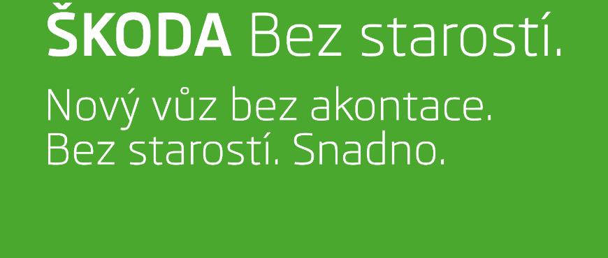 Značkový operativní leasing od Škoda Auto - ŠKODA Bez starostí nabízí již 17 modelů