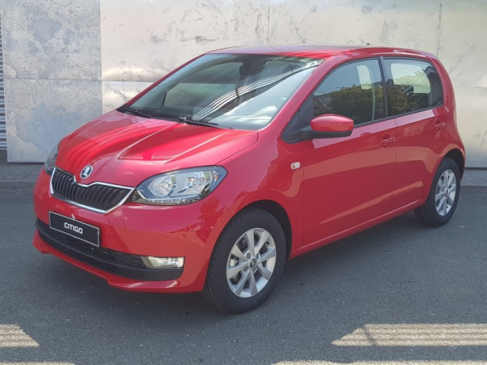 ŠKODA Citigo Fresh 5MP Green tec 1,0 MPI / 44kW na operativní leasing