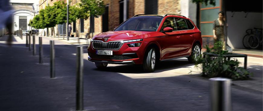 Škoda Kamiq na operativní leasing