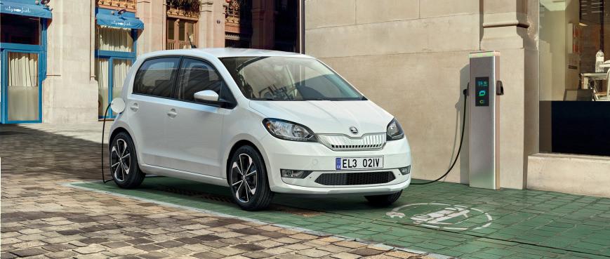 Elektrická Škoda CitiGo-e IV v nabídkách na operativní leasing