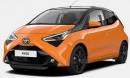 Toyota Aygo 1,0 VVT-i na operativní leasing