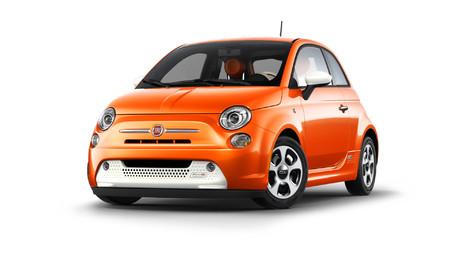 Fiat 500e na operativní leasing