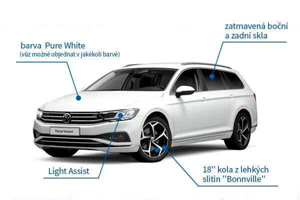 VW Passat Variant 1.5 TSI Elegance 110 kW DSG - akční model na operativní leasing