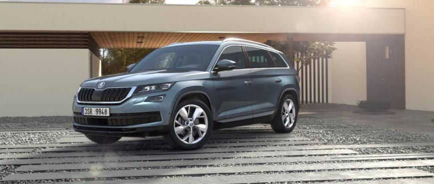 Nová Škoda Kodiaq na operativní leasing. Všestranný člen rodiny již za 7 310 Kč měšíčně!