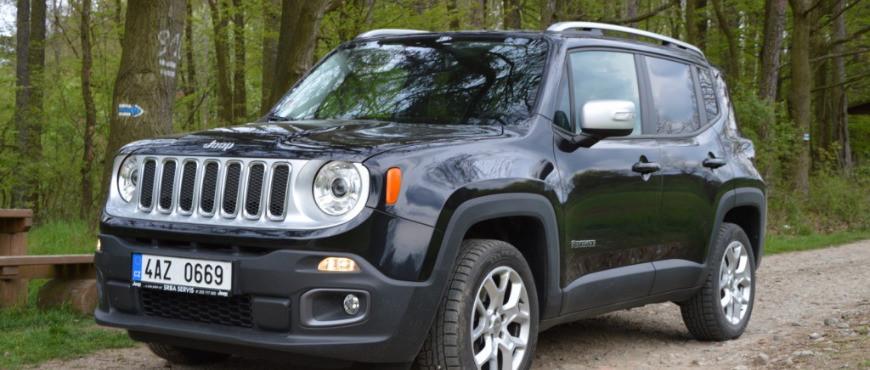 Operativní leasing Jeep Renegade : ideální dobrodruh do města, vlimitované edici za  6666 Kč měsíčně