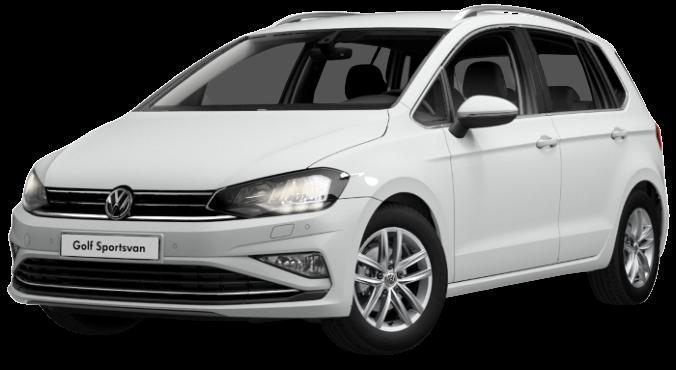 Volkswagen Golf Sportsvan 1,5 TSI na operativní leasing